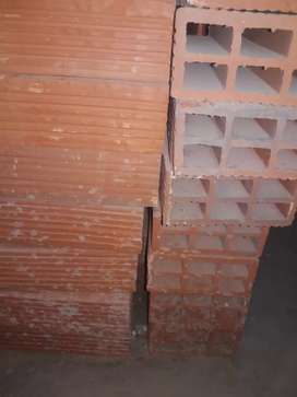 Ladrillos huecos 8x18x25