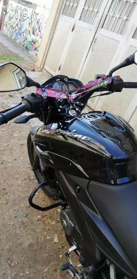 Vendo moto ns 16 2019 casi nueva