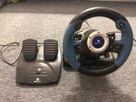 volante e pedal para PC