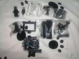 Vendo cámara gopro con accesorios