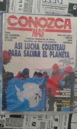 Revista Conozca Mas Numero 44 Del Año 1992
