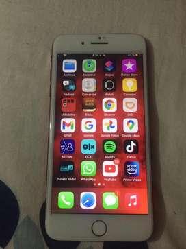 Cambio vendo iphone 8 plus para repuestos o para hacerle by pass
