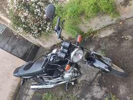 Moto Yamaha YBR125 Negra