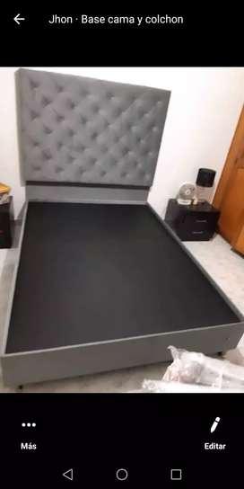 Base camas medidas y color