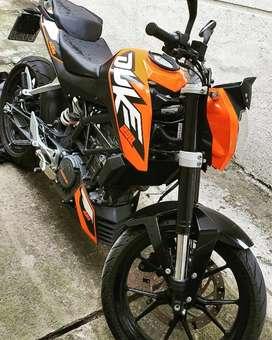 KTM DUKE 200 AÑO 2013