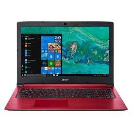 Portátil NUEVO Acer Core I3 10gen 8gb 1tb 15.6 A315-56 Rojo