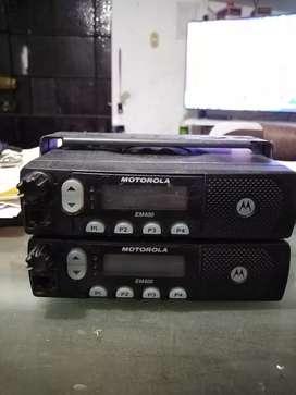 Radio base móvil Vhf Motorola Em400