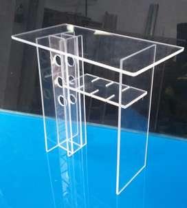 Mini Bar de mesa en acrilico