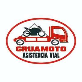 Gruamoto motoGrua de Servicio Grua Plataforma Remolque para moto montacarga tricimoto en Guayaquil Salinas Gruas