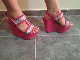 vendo zapatos nuevos de mujer