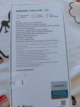 Vendo Samsung A80 128gb 15 Dias de Uso