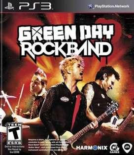 Vendo Rock Band Green Day Ps3
