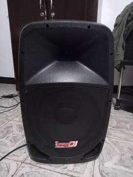 Cabina pro dj  Pb12e-mp3 Activa Bluetooth