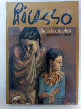Libro Picasso su vida y su obra por Alexandre Cirici