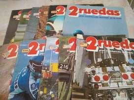 Revista 2 Ruedas $150 c/u Fasciculo 1 2 4 5 6 7 8 9 .11.12 Perfec