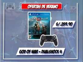 God of war + mando ps4