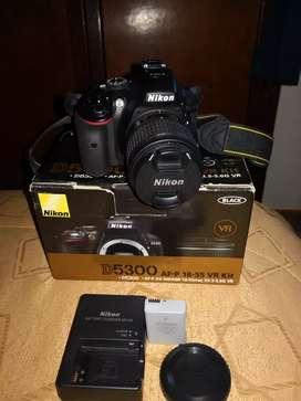 Nikon D5300 como nueva
