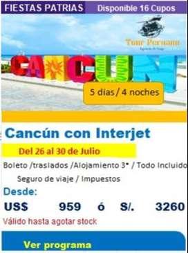 ¿ Cuál es la mejor fecha para viajar con niños a Cancún?