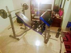 Vendo Kit de Banco de ejercicio multiple