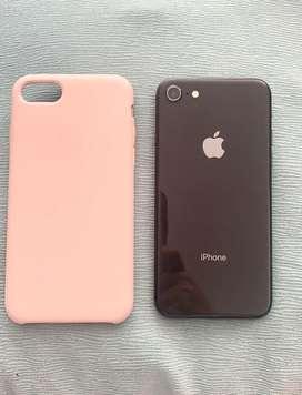 Iphone 8 de 64gb color negro