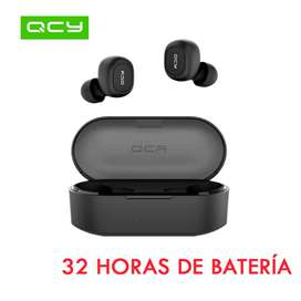 Audífonos Bluetooth QCY T2 TWS qs2  mejores que Xiaomi airdots qs1 T1