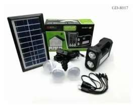Kit Solar Panel Radio 3 bombillos