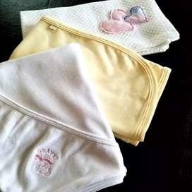 Lote de mantas para bebé