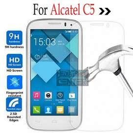 Film Glass Vidrio Templado Alcatel Pop C5