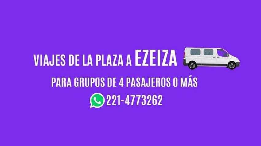 Combis a Ezeiza Aeroparque Y El Palomar 0
