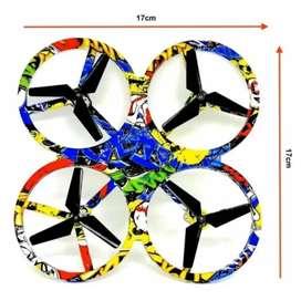 Minidrone con control de mano