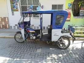 Ventó moto taxi
