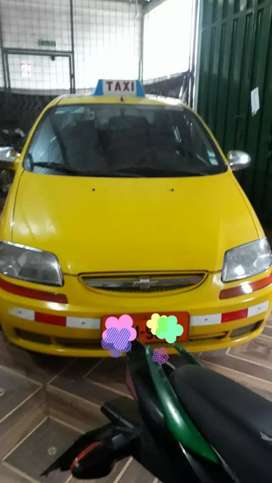 Se vende taxi chevrolet Aveo Family buen precio
