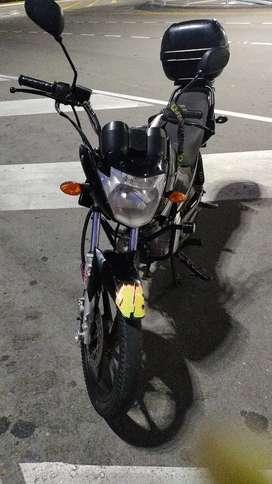 Es una moto muy bien cuidada