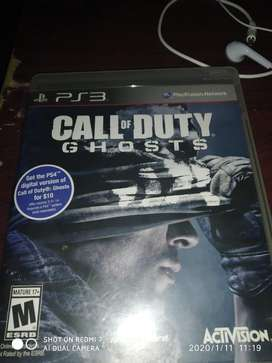 Juego de Play 3 Call of duty.
