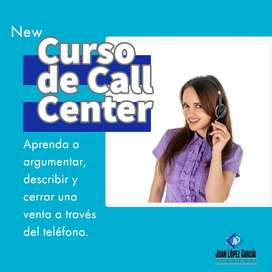 CURSO DE VENTAS Y CALL CENTER