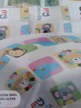 Dos juegos de sábanas de metro