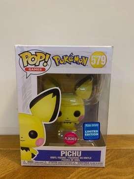 Funko Pop Pichu Flocked Exclusive (Original)
