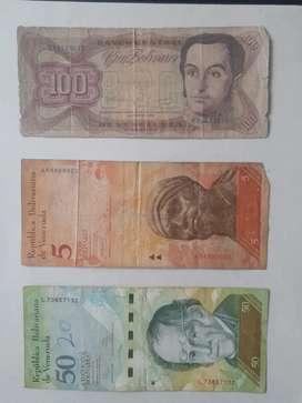 Vendo coleccion de bolívares venezolanos