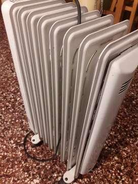 Vendo estufa, radiador eléctrico. Marca Spar.