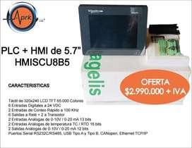 PLC + HMI de 5.7'' Schneider Electric