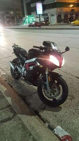 Moto ninja motor 200