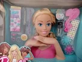 Barbie cuello para peinar