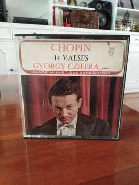Colección cintas de audio clásicas carrete abierto - varios artistas
