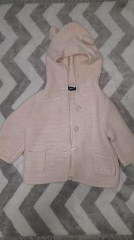 Campera ropa bebé beba talle 0 a 3 meses marca Gap