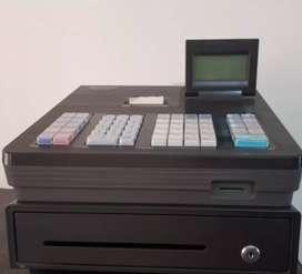Caja registradora para negocio