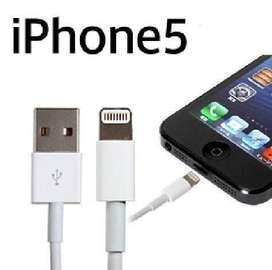 Cable Lightning Para Iphone 5 6 7 8 plus X Nuevo Y Sellado Gruponatic Independencia