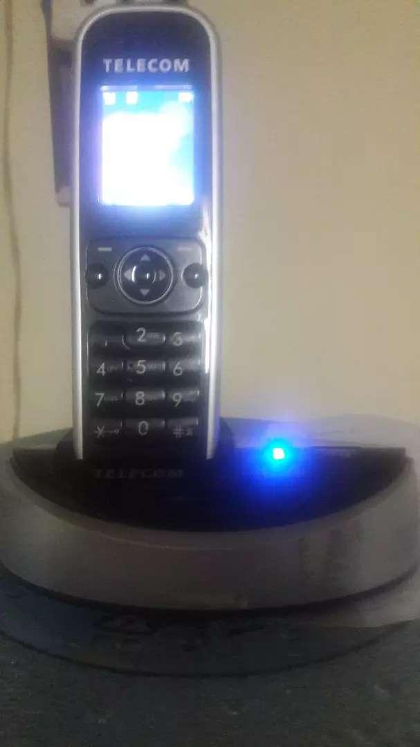 Vendo teléfono inalámbrico marca aladino 0