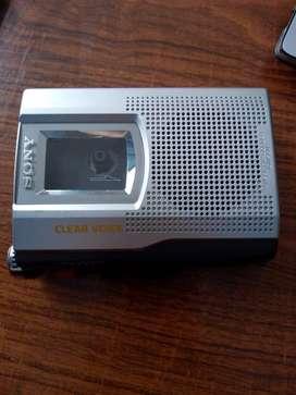 Grabadora de Voz de Cassette Sony Tcm-150