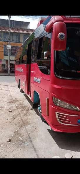 Se vende buseta Chevrolet NQR 2013 convenio sibate Bogotá