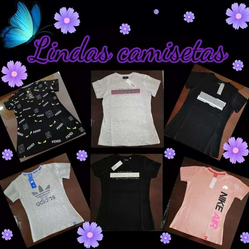 Camisetas para dama 0